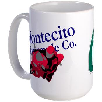 Image: A PCH / Montecito Motorcycle Co. coffee mug.