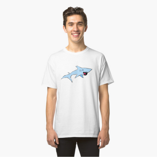 Image: Robbie the Shark Tee