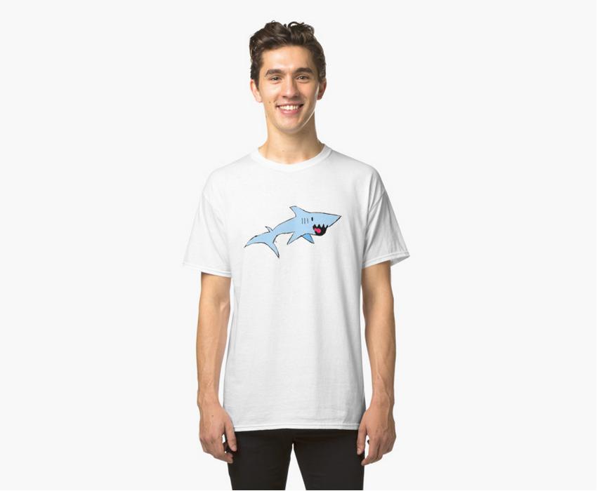 Image: Robbie the Shark Tee