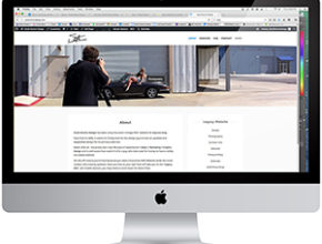 Image: Screen shot of Scott Norton Design website.