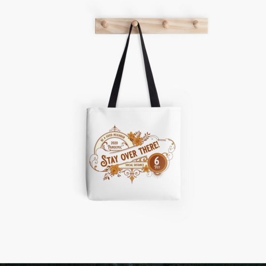 Image: Tote Bag - Stay over there